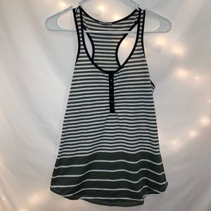 Warehouse One Striped Tank Top - S